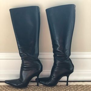 Jimmy Choo Leather Knee High Boots Size 7